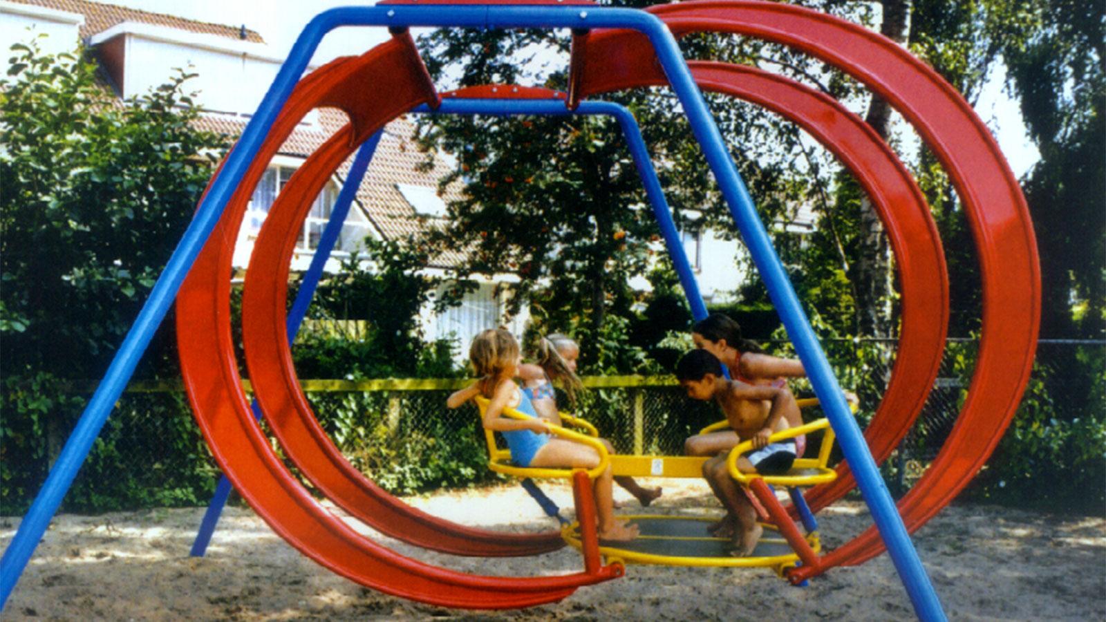 Wico Comfa - Vollemaanschommel - IJzersterk - Schommel - Speeltoestellen