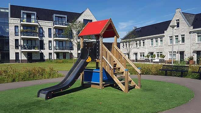 Wico Comfa - Kinderhout - Ridderhuis - H135 - Speeltoestellen
